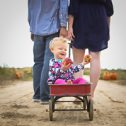 Adalynn Noel | One Year Portrait | Family Portrait | Wea Creek Orchard